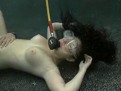 Underwater Sex With Cute Brunette