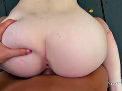 Sexy sloppy head girl Jayden Black