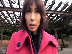 Attractive Japanese milf in stockings needs to be sexually
