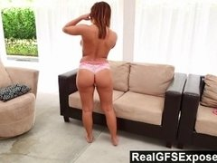 RealGfsExposed - Keisha gets her best orgasms when she frigs on cam