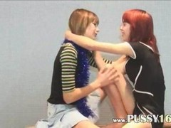 Still fantasizing about this vid of Shy us girlfriends on the floor