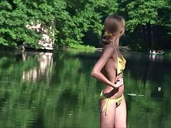 Tussi, Strand, Blondine, Behaart, Erotischer film