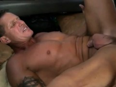 Straight cop gets gay blowjob Angry Cock!