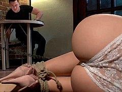 Breasty blonde BDSM and additionally hardcore fetish