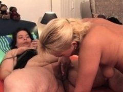 Huge fat girls and her girlfriend