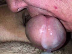 Wife sucking more cock