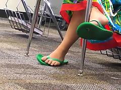 Amateur, Fétiche des pieds, Public, Voyeur