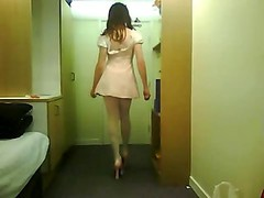 Cd In Pink Sexy Dress