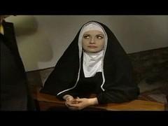 A hungy nun
