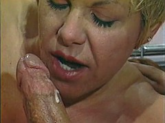courtney, thick angry rick masters - anal threesome
