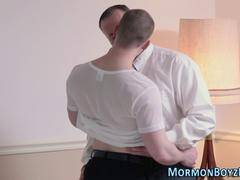 Mormon elder stripped