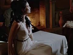 Eirini Karamanoli and Joanna Lamb in The Lost Legion