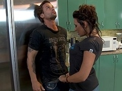 Rachel has every time liked Alan and moreover wants to get down and dirty him