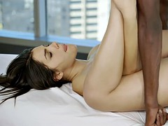 BLACKED Sexy Italian Babe Valentina Nappi Rimming Black Man