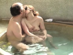 Beautiful Wife That Remains Is Left In Mixed Bathing