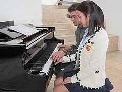 18 year-old horny pianist