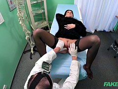 Doctor Makes Sure Patient Is Well Checked Over
