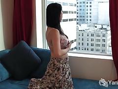 Amateur, Brunette brune, Hd, Masturbation, Chatte, Rasée, Jouets