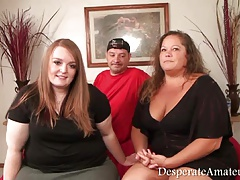 Amateur, Belle grosse femme bgf, Pov, Plan cul à trois