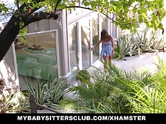 Gorgeous Babysitter Gets Fucked By Older Boss