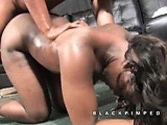 Black pimp dominates his ho named Africa
