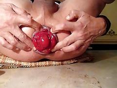 Penetracion con puños, Abierta, Gay
