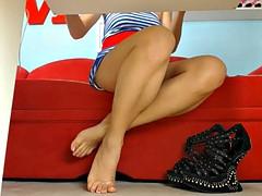 Amateur, Fetiche de pies, Bajo la falda, Voyeur