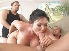Lieveling, Rondborstig, Sperma in gezicht, Hardcore, Pornster