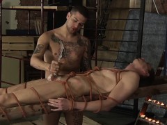 Master Mickey in full control of twink Billy Rocks cock
