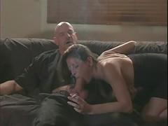 Lisa Blows off A Hard Fuck pole While Smo