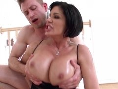 Slutty Shay Fox is lubed up and ready for anal sex