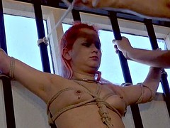 Redheads amateur bondage and kinky domination of enslaved