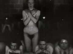 Retro Nude Satanic Ritual