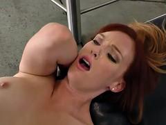 redhead interracial fucks