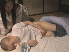 Blasen, Japanische massage