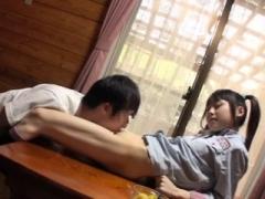 Jav Teenage Asami Tsuchiya Gets Her Tiny Pussy Licked