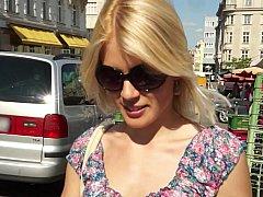 Leie, Schönheit, Blondine, Europäisch, Geld, Im freien, Realität, Jungendliche (18+)