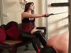 Love Your Domme - Domme allows slave lick her boots