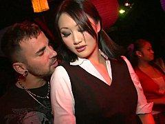 アジア人, クラブ, ダンス, グループ, ハードコア, オージー, パーティ, ポルノスター