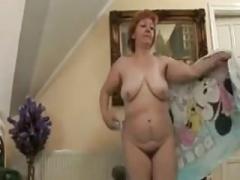 Fleshy Granny Mastubates