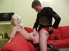 Granny Inga with Saggy Boobs Gets Fucked by snahbrandy