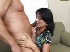 Hot Brunette Cougar Zoey Holloway Fucks Hard