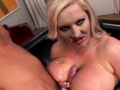 Big-breasted blonde gets rammed in xxx fashion