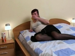 Old stockings brit hoe fuck and besides cumshot