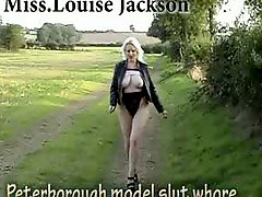 Peterborough Louise blonde sizeable titted whore outdoor sex