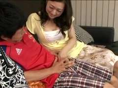Japanese Mother Is Molten For New Youthfull Hard-On !