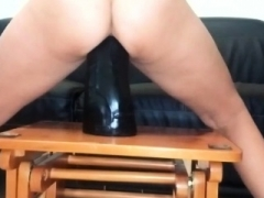 Xxxxxl-size dong getting down and dirty insatiable amateur MILF