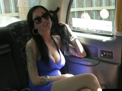 Cocksucking non-pro jerks and rides cabbie