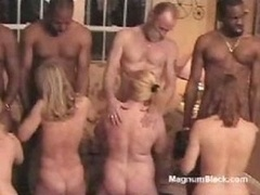 Naked sex menial babes are put to their knees and additionally admire their portion of good knob