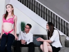 Gracie Might Green loves to ride stepdads big hard cock
